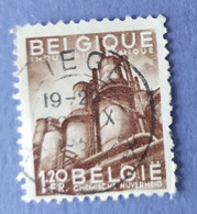 1948  -   BELGIO   -  VALORE  FRANCHI   1,20   - USATO - Usati