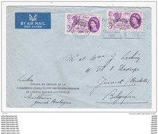 GRANDE BRETAGNE INTERNATIONAL POSTAL CONFERENCE  Eastbourne  8 July  1960  UPU Union Postale Universelle - Post
