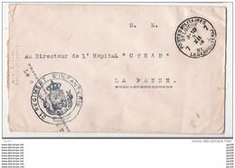 14-18 L Franchise Militaire Belge 2ème Regiment D'infanterie PMB 7 + Voir  à L'intérieur LA PANNE A - Belgisch Leger