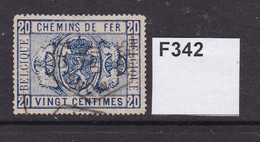 Belgium 1879 Railway Stamps. 20c - Afgestempeld