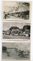 TONKIN  SAIGON  3 Cartes  écrites En 1954- Riche Enterrement - Place Cuniac Rue Anim     -- D25-2018 - Vietnam