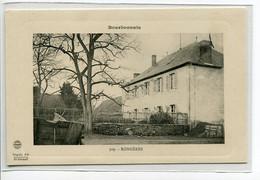 03 RONGERES Maison Du Village Edit Béguin Fils No 309 - Bourbonnais - 1910  D25 2018 - Autres Communes