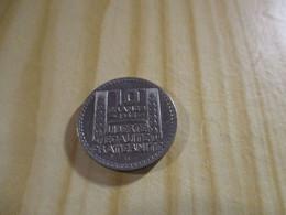 France - 10 Francs Turin 1946 B,grosse Tête,rameaux Courts.N°1636. - K. 10 Franchi