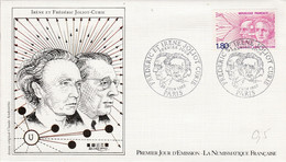 FDC 1982 IRENE ET FREDERIC JOLIOT-CURIE - 1980-1989
