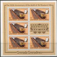 Grenada Grenadines 1979. Michel #337-C. Klb. MNH/Luxe. Rowland Hill. Transport. Mail Train (B33) - Eisenbahnen