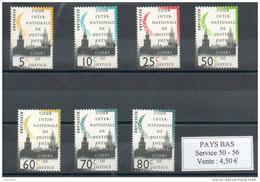 Pays Bas. Cour Internationale De Justice - Dienstpost
