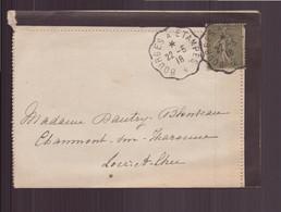 """France, Enveloppe Du 22 Mai 1918 """" Bourges à Etampes """" Pour Chaumont Sur Tharonne - Lettres & Documents"""