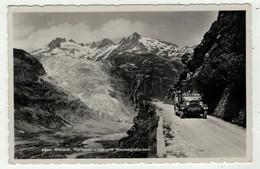 Automobile // Autocar Sur La Route De La Furka (Automobile Postale) - Buses & Coaches
