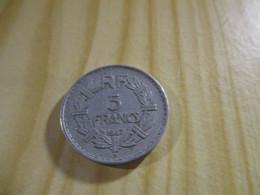 France - 5 Francs Lavrillier 1947 B Alu.N°1648. - J. 5 Franchi