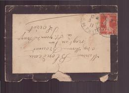 France, Enveloppe Du 3 Novembre 1911 Pour Saint-Jean De Braye - Lettres & Documents