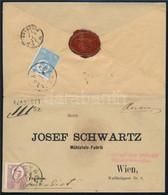 """1872 Kőnyomat 10kr és Réznyomat 5kr Ajánlott Levélen """"ZSARNÓCZA"""" - Wien - Unclassified"""