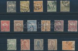 O 1904 Turul Sor 12f és Sötétborvörös 50f Nélkül + Hírlapbélyeg, 4. Vízjelállás (115.000) - Unclassified