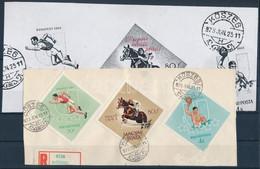 1964 Olimpia (IV.) - Tokió 80f Az Olimpiai Karikák Nélkül Levéldarabon (100.000) - Unclassified