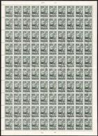 O 1957 Az 1950. Repülő (V.) Záróértéke 20Ft Teljes 100-as Hajtott ív Hármaslyukasztással (300.000) - Unclassified