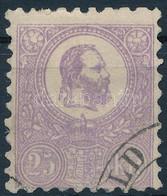 O 1871 Kőnyomat 25kr Javított Bélyeg / Repired Stamp (90.000) - Unclassified