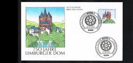 1985 - Deutschland FDC Mi. 1250 - Architecture - Churches & Cathedrals - 750 Jahre Limburger Dom [KQ060] - FDC: Briefe
