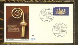 1987 - Deutschland FDC Mi. 1329 (3) - 1200. Jahrestag Der Erhebung Bremens Zur Bischofssitz [PB6_890] - FDC: Briefe