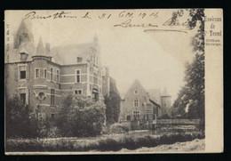 ENVIRONS DE ST TROND * CHATEAU D ORDANGE * 1904 * KASTEEL * 2 SCANS - Sint-Truiden