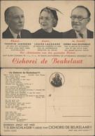 Belgium Advert. Postcard Chicory. Publicité, 'Cichorei De Beukelaar', Toontje Janssens, Louisa Lausanne Radio Antwerpen. - Antwerpen