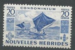 NOUVELLES HEBRIDES - Pirogues à Voiles - Unused Stamps