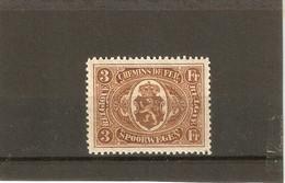 Tr Nr 129  X. Lichte Scharnier  Mooie Zegel - 1915-1921