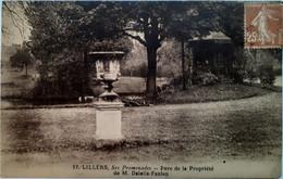Lillers - Ses Promenades - Parc De La Propriété De M. Delelis-Fanien - Lillers