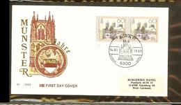 1993 - Deutschland FDC Mi. 2x1645 - 1200 Jahre Münster [PB4_093] - FDC: Briefe