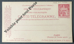 France Entier Chapelain (Pneumatique) N°2503 - Neuf - (B548) - Neumáticos