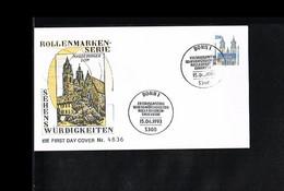 1993 - Deutschland FDC Mi. 1665 (1) - Vacation & Tourism - Freimarken - Sehenswürdigkeiten [KT089] - FDC: Briefe