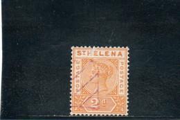 SAINTE HELENE 1890-7 O - Andere