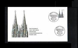 2001 - Deutschland FDC Mi. 2206 - Vacation & Tourism - Freimarken - Sehenswürdigkeiten [KW053] - FDC: Briefe