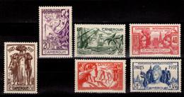Ex Colonie Française * Cameroun * Poste 153/158  Qualité Luxe  N** - Nuevos