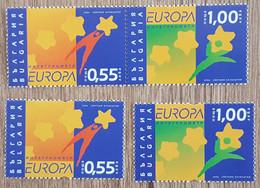 Bulgarie - YT N°4094, 4095, 4094a+4095a - Europa / L'intégration - 2006 - Neuf - Nuovi