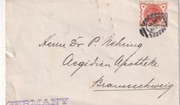 GRANDE BRETAGNE LETTRE DE LONDON - Briefe U. Dokumente