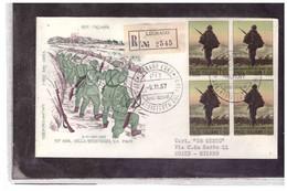 FDC6571  -  LEGNAGO   9.11.1967  /    FDC CINQUANTENARIO DELLA RESISTENZA SUL PIAVE - FDC