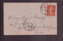 France, Enveloppe Du 3 Août 1914 Pour Saint-Jean De Braye - Lettres & Documents