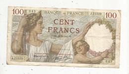 Billet , France , 100 , Cent Francs ,SULLY , 30-4-1941 , 2 Scans , Frais Fr 1.85 € - 100 F 1939-1942 ''Sully''