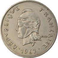 Monnaie, Nouvelle-Calédonie, 10 Francs, 1967, Paris, TTB+, Nickel, KM:5 - New Caledonia