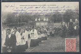 CPA 86 - Charroux, Ostensions - La Procession - Charroux