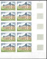 France Maury N° 1873 En Bloc De Dix Timbres Non Dentelés Neufs ** MNH. TB. A Saisir! - Ungezähnt