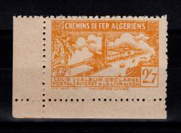 Algerie - Variete Colis Postaux N** Luxe YV 113 Sans La Surcharge - Paketmarken