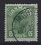 Denmark  1913-15  King Christian X (o) Mi.67 (cancelled MARIBO) - Used Stamps