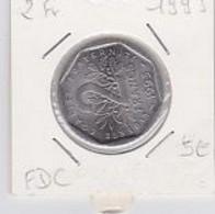 2 Frs Semeuse Nickel 1993   SUP - I. 2 Francs