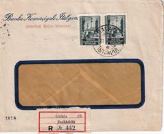 TURQUIE LETTRE RECOMMANDEE DE GALATA - Briefe U. Dokumente