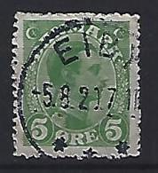 Denmark  1913-15  King Christian X (o) Mi.67 (cancelled EIBY) - Used Stamps