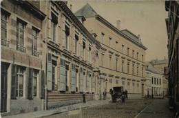 Mons // Hotel Du Gouvernement Provincial (color) 1908 Ronde Hoeken En Iets Sleets - Mons