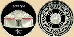 Kyrgyzstan 1 Som 2018 - Kyrgyzstan