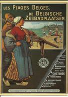 Reproduction D'une Affiche -- Les Plages Belges.   (2 Scans) - Non Classés