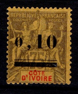 Ex Colonie Française * Cote D'Ivoire * Poste  19  Qualité N* - Unused Stamps
