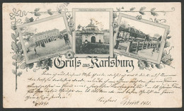Romania-----Alba Iulia (Karlsburg)-----old Postcard - Rumänien
